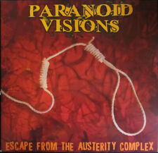PARANOID VISIONS - Escape From Austerity Complex - Brand New & Sealed CD