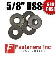 US Made Steel Flat Washers; 1//2 M13 Bolt; 16005 Northwestern Tools Qty//100