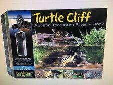 Exo Terra Aquatic Terrarium Turtle Cliff Filter Large Reptile Basking