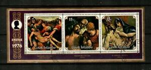 COOK ISLANDS Scott's 444a ( S/S ) Easter F/VF Used ( 1976 ) #1