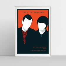 Illustraquotes - THIS IS ENGLAND - Poster Giclée Print (firmata)