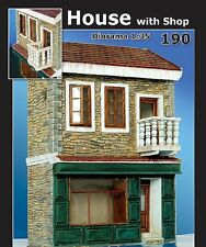 PLUS MODEL HOUSE WITH SHOP WWII Scala 1:35 Cod.PL190