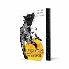 Darkdawn - Jay Kristoff SIGNED 1ST EDITION with SPRAYED EDGES