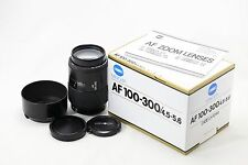 *MINT* Minolta AF 100-300mm f/4.5-5.6 Telephoto Lens For Sony Alpha A Mount