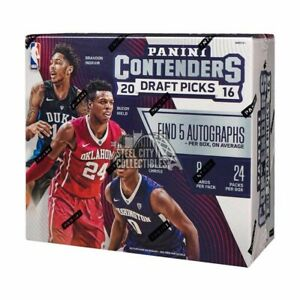 2016-17 Panini Contenders Draft Picks Basketball Hobby Box