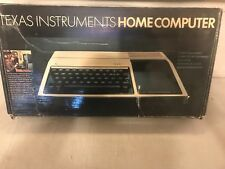 TEXAS INSTRUMENTS HOME COMPUTER (Complete In Box)