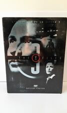 COFFRET 7 DVD VIDEO THE X FILES EDITION LIMITEE SAISON 3