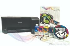 A4 Sublimation Printer Bundle: EPSON ET-2710 + 4 x 100 ml encre + papier-aucun OEM