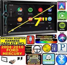 2004-16 FORD MERCURY NAV BLUETOOTH APPLE CARPLAY ANDROID AUTO CAR RADIO STEREO