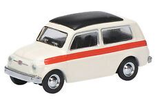 SCHUCO 1:87 FIAT 500 Familiar Blanco 26273