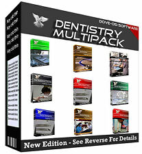 MULTIPACK - Dentistry Dentist Laboratory Assistant Training Course Book on CD