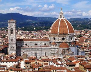 BASILICA DI SANTA MARIA DEL FIORE Florence Italy Glossy 8x10 Photo Cathedral