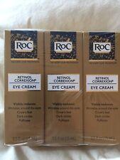 3 RoC Retinol Correxion Eye Cream - 0.5 oz NEW