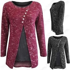 Unbranded Button Acrylic Blend Jumpers & Cardigans for Women