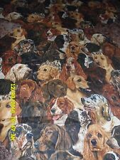 TOILET LID TANK LID COVER SET DOG PUPPY HUNTING SPANIEL LAB