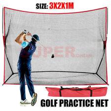 3M Huge GolfPracticeNet Portable Hitting Swing Training Net Outdoor +Carry Bag