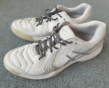 Asics Gel Game 6 Womens Tennis Shoes Size 8 UK All Court white