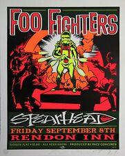 Foo Fighter - Concert VINTAGE BAND POSTERS Song Rock Travel Old Advert #ob