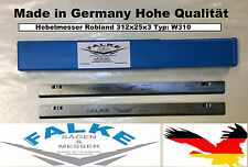 1 Stück Hobelmesser Robland 312x25x3 Typ: W310