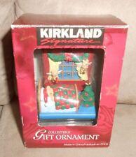 Kirkland Signature Ornament - Bear in Bed - Very Nice Shape