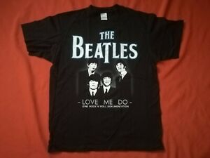 THE BEATLES Love Me Do Shirt Größe L - NEU