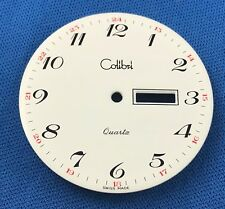COLIBRI Watch Dial -Quartz- 38mm Fit ETA 2836-2 -Swiss Made- Day/Date #762
