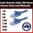 1m 2m 5m 15m 20m 30m Ethernet Network Cable LAN Router Internet Patch Lead CAT6