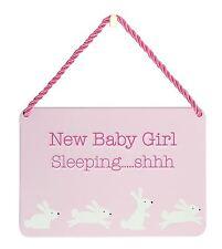 Hang-Ups placas-Nuevo Bebé Niña Durmiendo