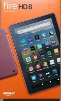 """All-new Fire HD 8 tablet, 8"""" HD display 32 GB Plum New!"""