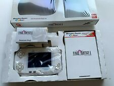 wonder swan Color Final Fantasy 2 Console & Game Set WSC from JAPAN unused