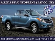 MAZDA BT-50 MK1  FRONT & REAR NEOPRENE SEAT COVERS ( WETSUIT MATERIAL )