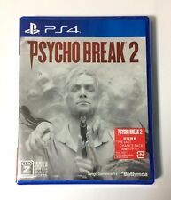 NEW PS4 Psycho Break 2 JAPAN Sony PlayStation 4 import Japanese game PsychoBreak