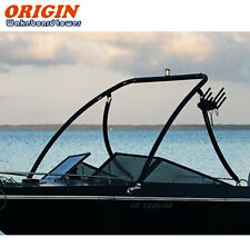 "Origin Advancer Boat Wakeboard Tower 2.25"" Tube Glossy Black 5 Year Warranty"