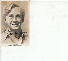 Hughie Green Signed  Post Card 5 x 3.5 INCH