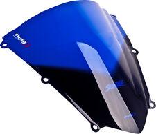 07-12 Honda CBR600RR Puig Racing Windscreen, Blue  4356A