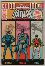 DC 100 Page Super Spectacular #14 VF 8.0 high grade Batman 1973 create-a-lot