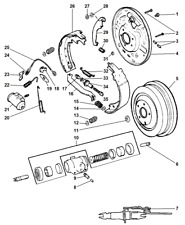 1999-2004 Dodge Dakota Rear Brake Pads Left Right New OEM 2AMV2126AA