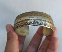 Extremely Rare Ancient Roman Bronze Bracelet Authentic Artifact Very Stunning