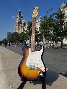 Fender Squier Stratocaster - Tobacco Sunburst, The Real Deal !!