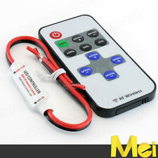 D013 controller mini DIMMER per striscia LED 3528 5050 5630 12A telecomando RF
