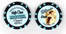 Millionaire Club Virginia City, NV Brothel Collectors Chip Whorehouse Cat House