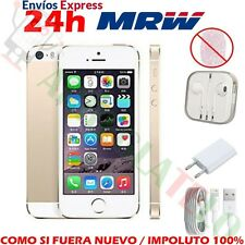Apple iPhone 5S Smartphone Libre iOS 8Mp 32GB Dorado Oro NTI