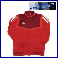 SCHNÄPPCHEN! adidas Tiro 19 Polyester Training Jacket  rot  Gr.: L  #T 1256