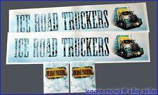 King Knight Tamiya 1/14 Truck Reefer Trailer Decals Scania Wedico ICE ROAD +GIFT