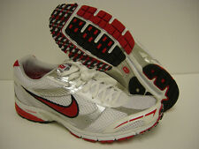 NEW Mens Sz 7 NIKE 343957 161 Zoom Speed Lite ST+ White Red Sneakers Shoes