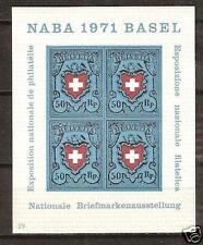 SWITZERLAND # 530 MNH STAMP EXHIBITION, N.A.B.A 1971