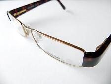 Miu Miu Eyeglasses Women's Frame VMU50E 50E GOLD 7OE-1O1 New Authentic