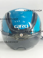 GIRO 2015 AIR ATTACK SHIELD HELMET BLUE BLACK MEDIUM BRAND NEW 7054612 W