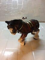 Vintage Ceramic Clydesdale Horse