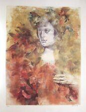 Renzo Vespignani  litografia ceramolle cm.65,5x86,5